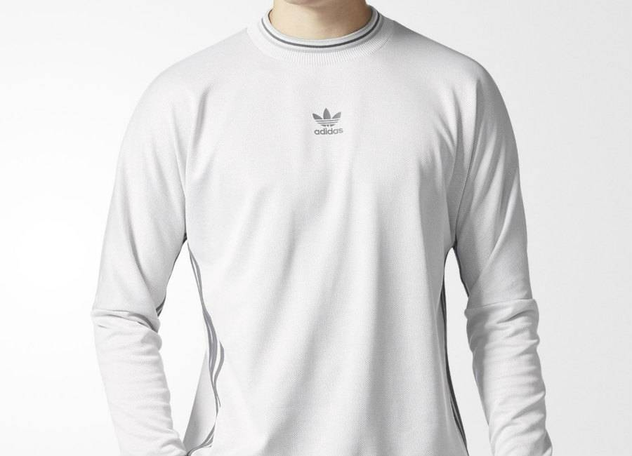 Adidas Goalie Tee - White / Black