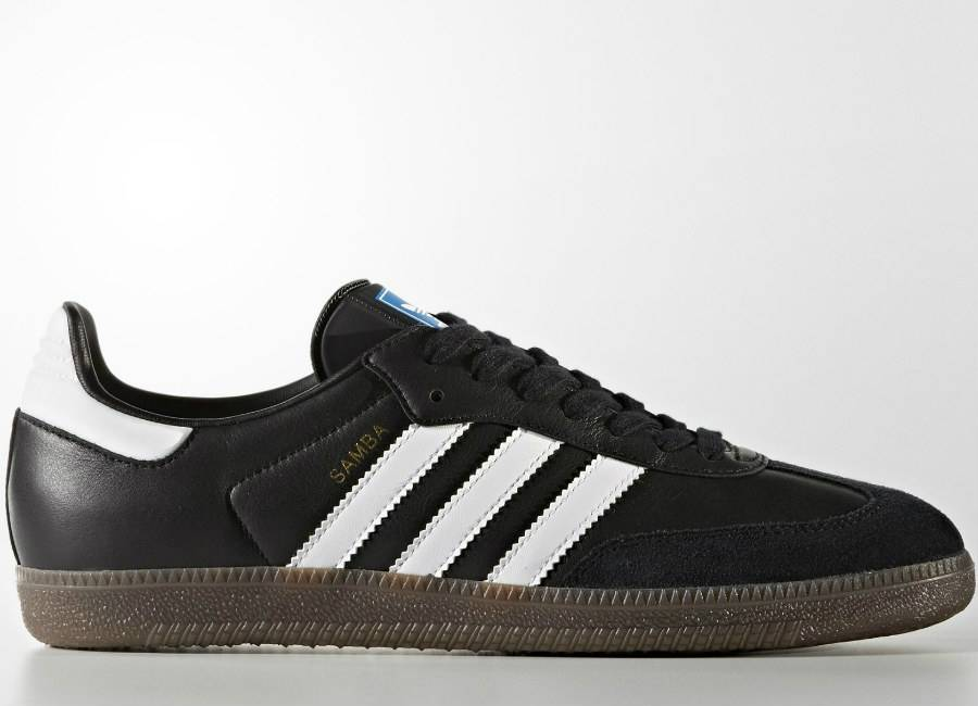 Adidas Samba OG Shoes - Core Black / Footwear White / Gum