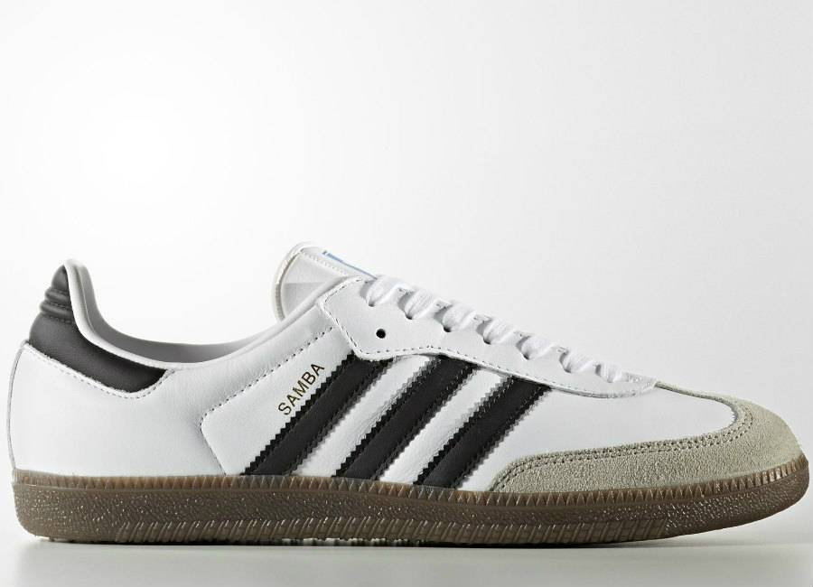 Adidas Samba OG Shoes - Footwear White / Core Black / Clear Granite