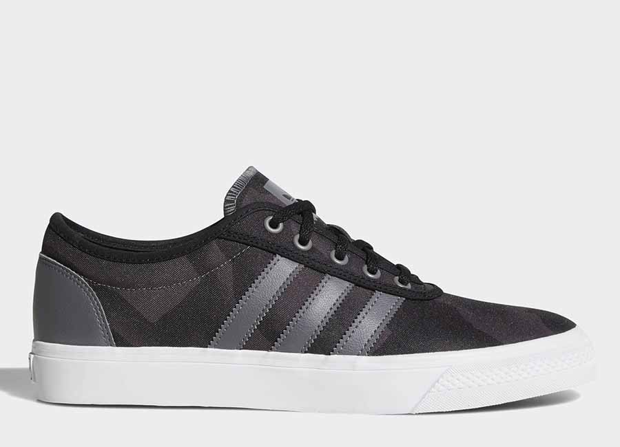 Adidas Adiease Shoes - Core Black / Dgh Solid Grey / Ftwr White