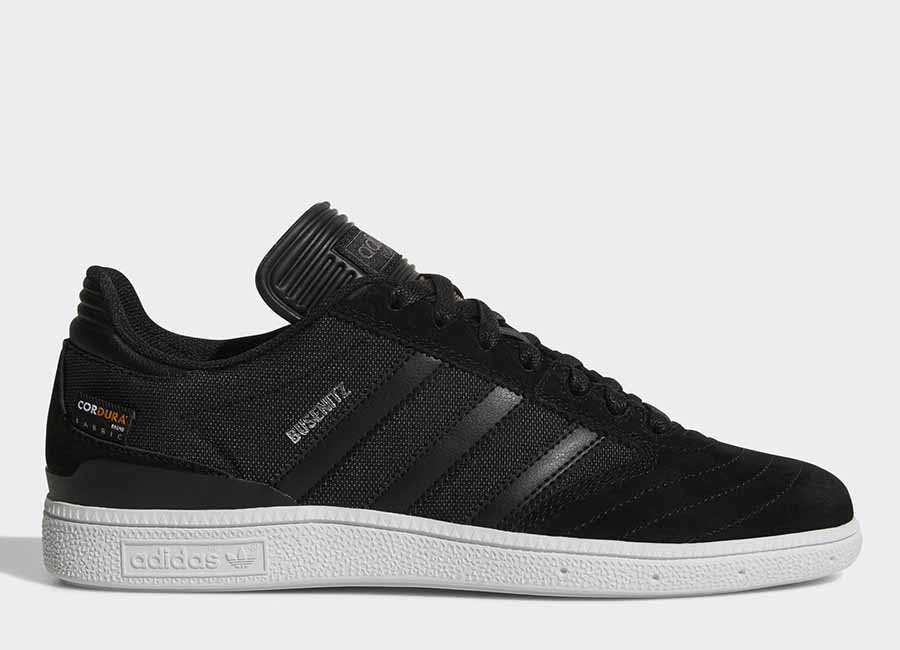 Adidas Busenitz Pro Shoes - Core Black / Core Black / Ftwr White