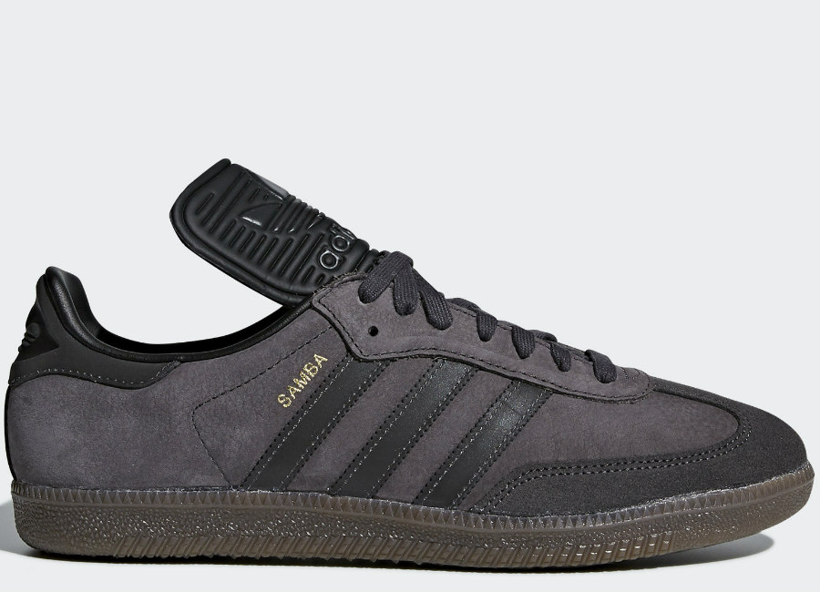 Adidas Samba Classic OG Shoes - Utility Black / Reflective / Core Black