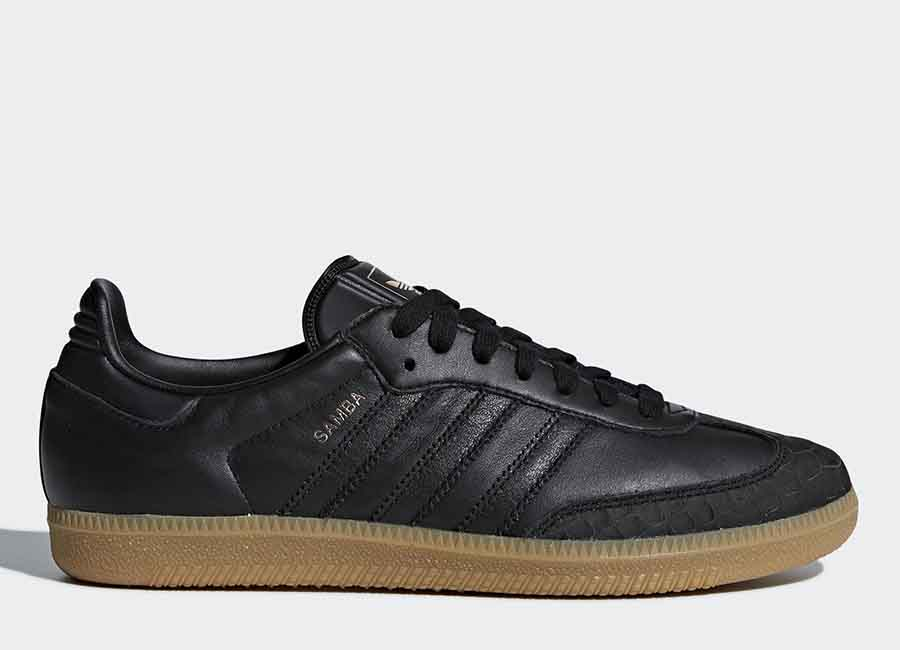 Adidas Samba Shoes - Core Black / Core Black / Gum