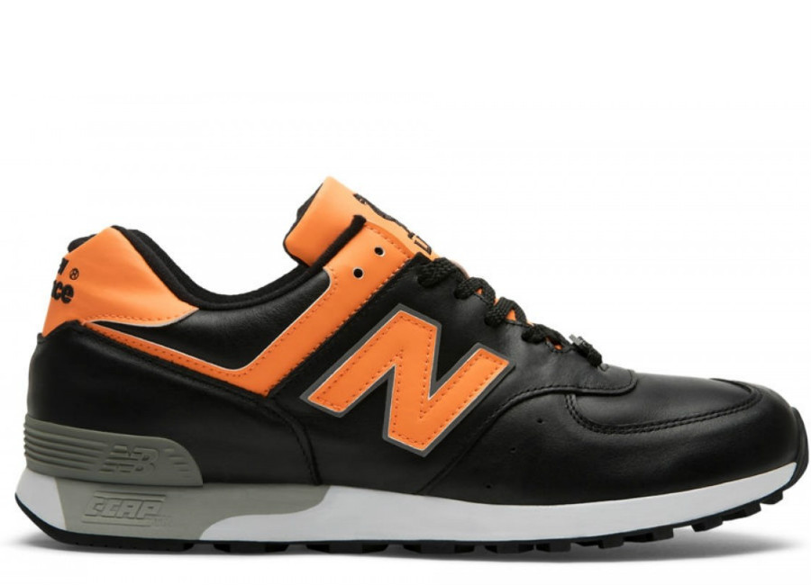 New Balance 576 Made in UK LFC - Black / Orange / Grey