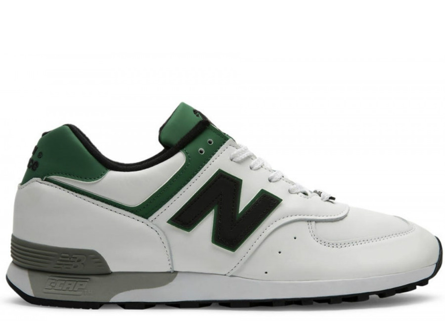 New Balance 576 Made in UK LFC - White / Green / Black
