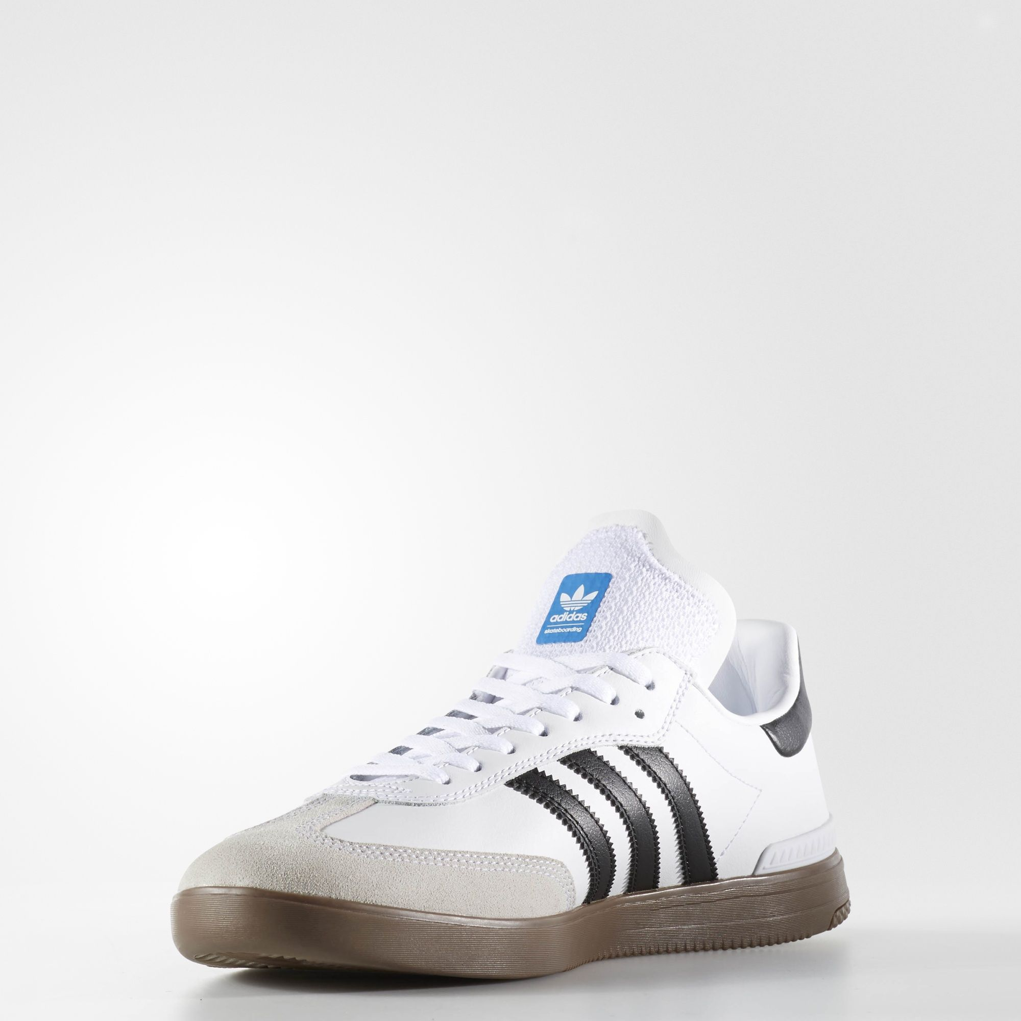 adidas samba adv shoes footwear white core black gum. Black Bedroom Furniture Sets. Home Design Ideas