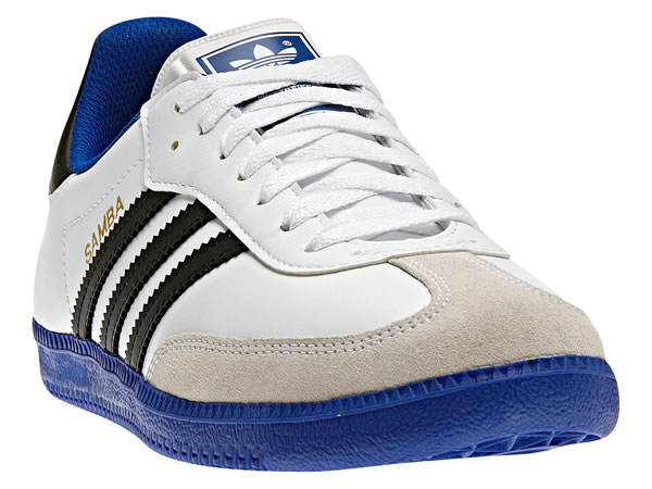 Adidas Samba - running white / true blue / black