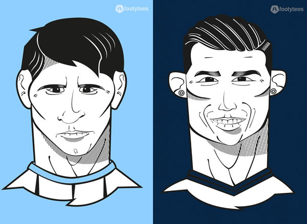 Messi or Ronaldo - Who's Next Pichichi? T-Shirts