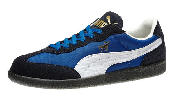 Puma Liga Nylon Suede - New Navy / White / Snorkel Blue
