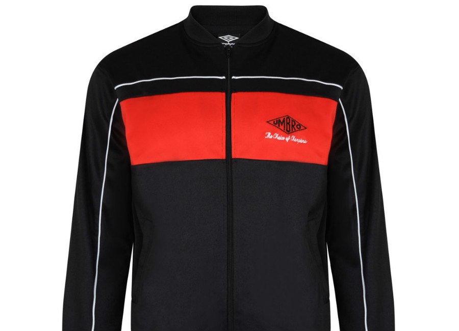 Umbro Choice Of Champions Track Jacket - Black / Red