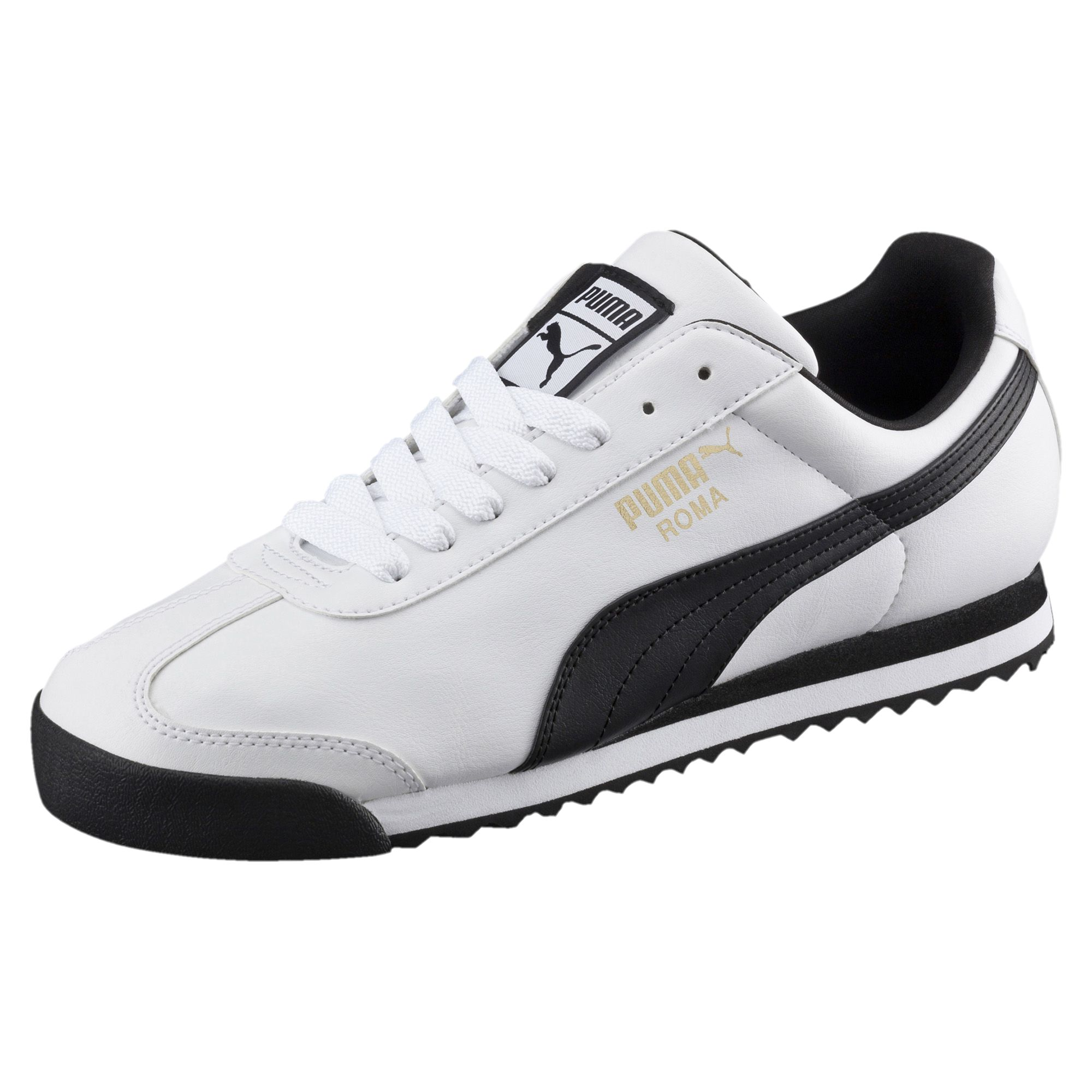 Puma Unisex Black And White Casual Shoes