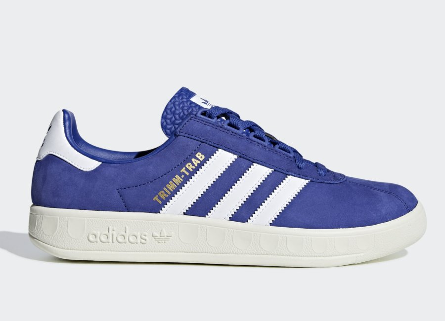 Adidas Trimm Trab 'Rivalry Pack' - Active Blue / Ftwr White / Gold Met