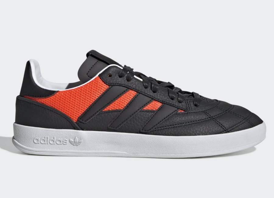 Adidas Sobakov P94 Shoes - Core Black / Core Black / Solar Red
