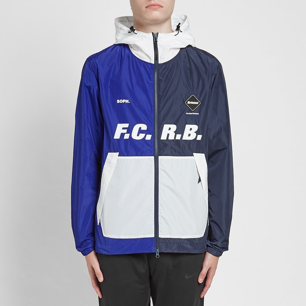 F.C. Real Bristol Separate Practice Jacket - Navy / Blue
