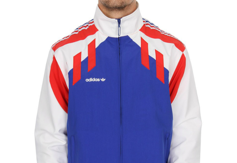 Adidas Tri Colore Track Jacket Bold Blue Red White