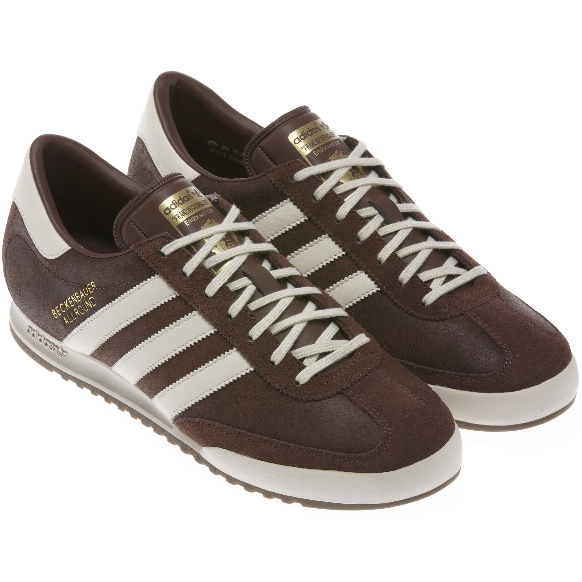 What Is Leather Made Of >> Adidas Beckenbauer Allround - St Auburn / Gum / Bliss